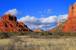 Bell Rock and Courthouse - Sedona, Arizona