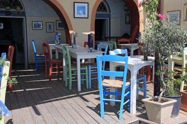 Ready for Lunch - Santorini, Greece