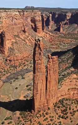 Spider Rock - Chinle, Arizona