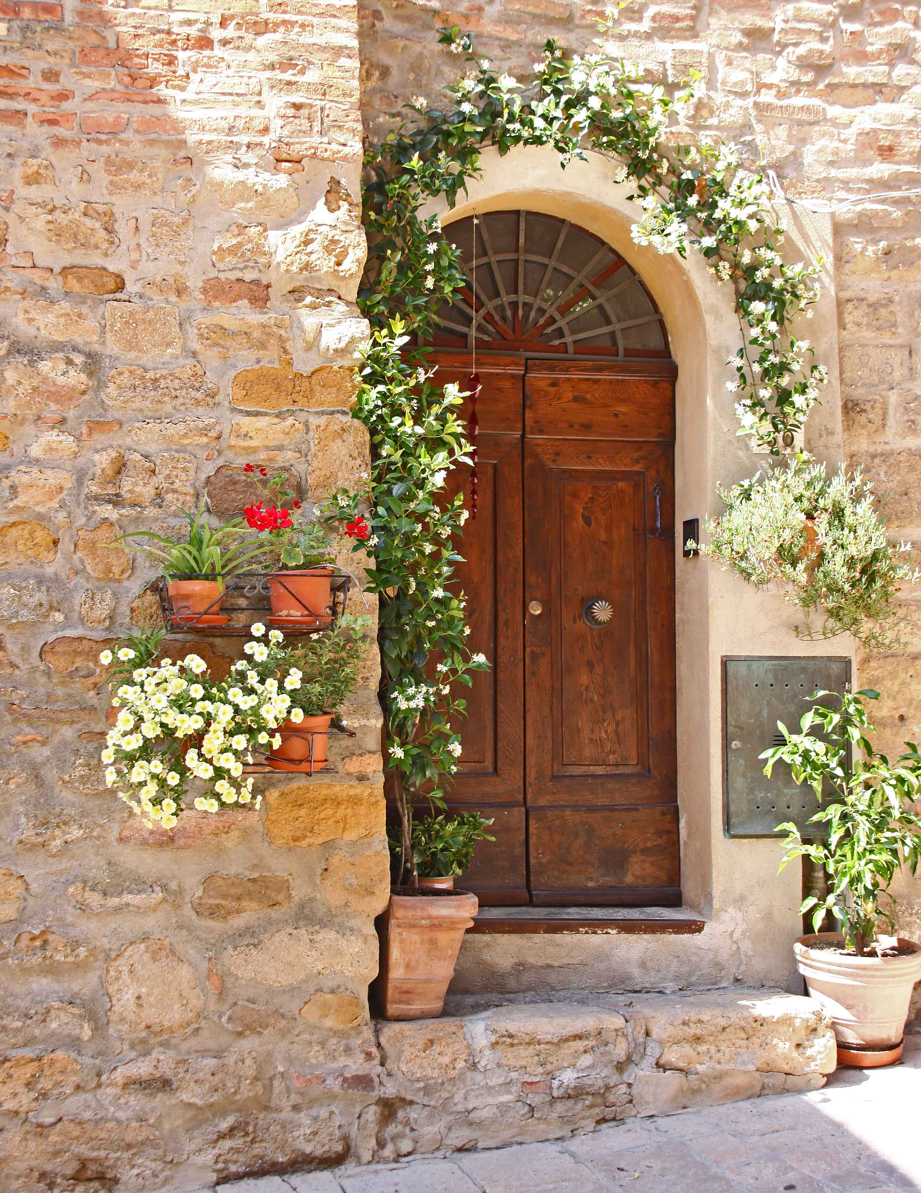 Doorway - San Gimignana, Italy