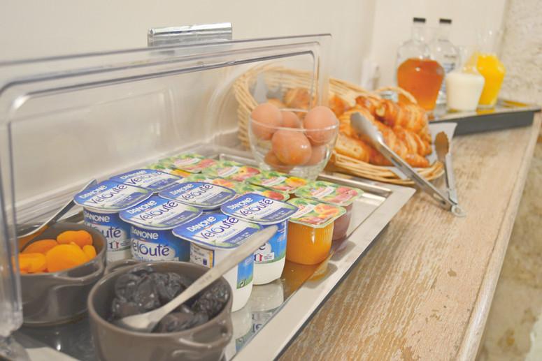 Buffet - Petit-déjeuner