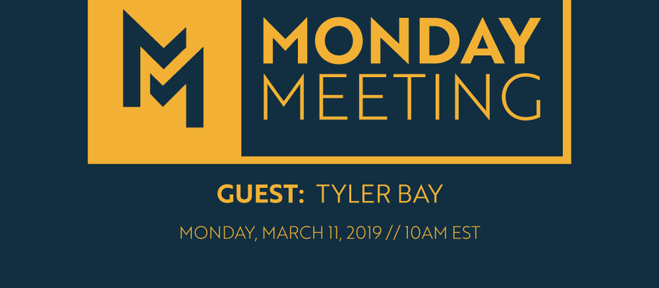 March 11, 2019 | Guest: Tyler Bay