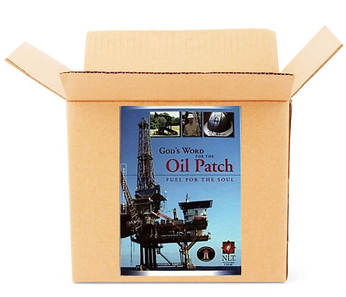 Oil patch bibles - case lots