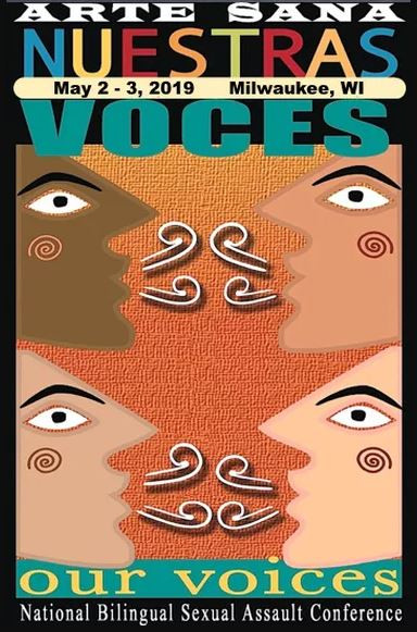 Nuestras Voces Our Voices Conference Logo
