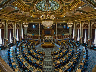 Iowa state budget discussions off to partisan start