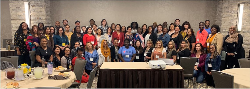 Group photo from the 2019 Communities of Color Summit