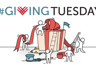 This Giving Tuesday, we raised $2,600!