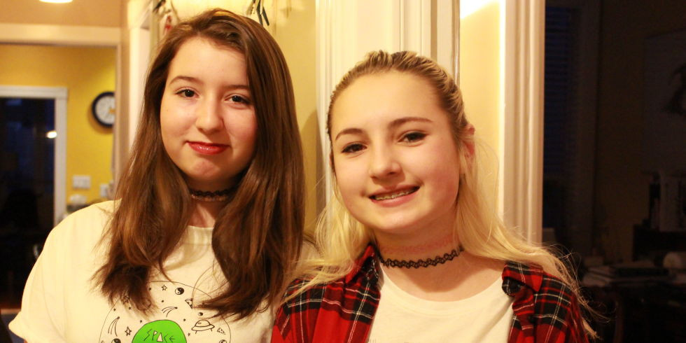 The two 13-year-old girls changing the conversation about consent
