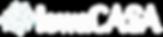 IowaCASA white Logo Transparent Backgrou