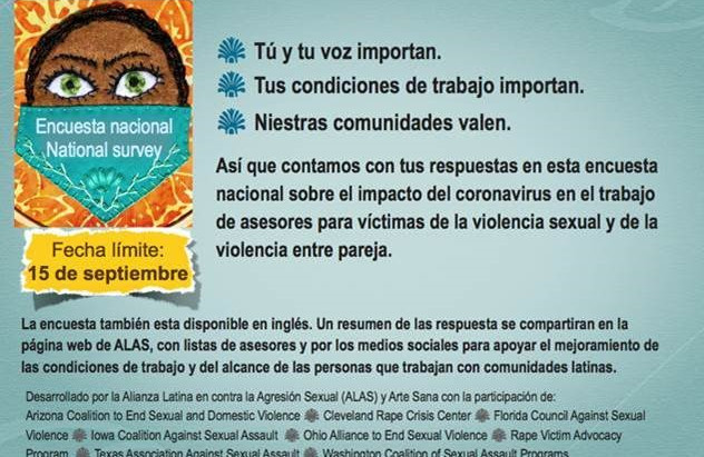 Encuesta Nacional: Asesoria A Comunidades Latinoamericanas