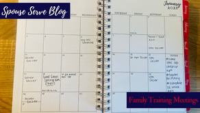 Family Training Meetings: How We Sync Calendars