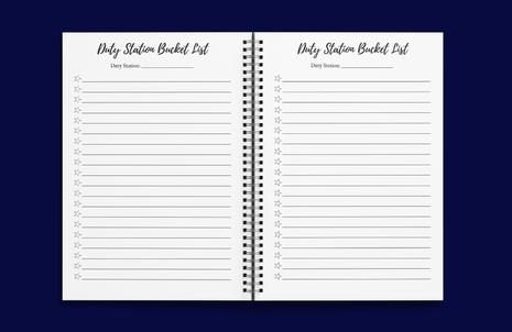 Duty Station Bucket List 2021 Calendar Year Planner