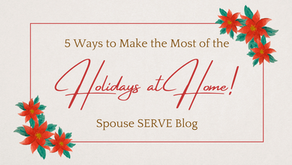 5 Ways to Make the Most of the Holidays at Home