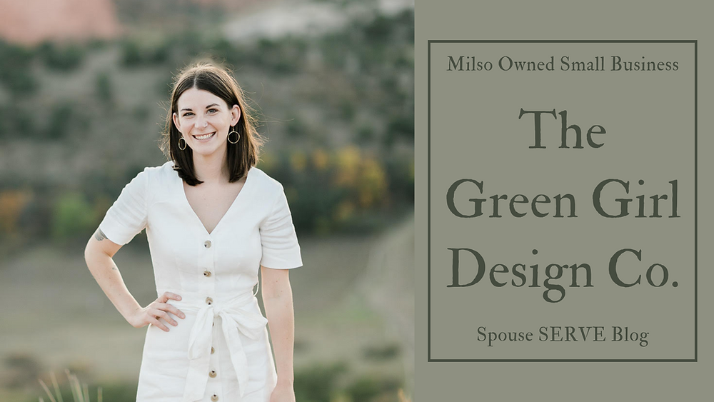 Milso Owned Small Business The Green Girl Design Co