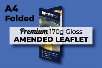 A4 Folded Premium 170g Gloss AMENDED