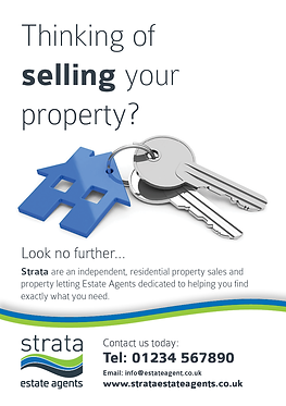 Stunning Estate Agents flyers