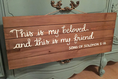 Song of Solomon B Board