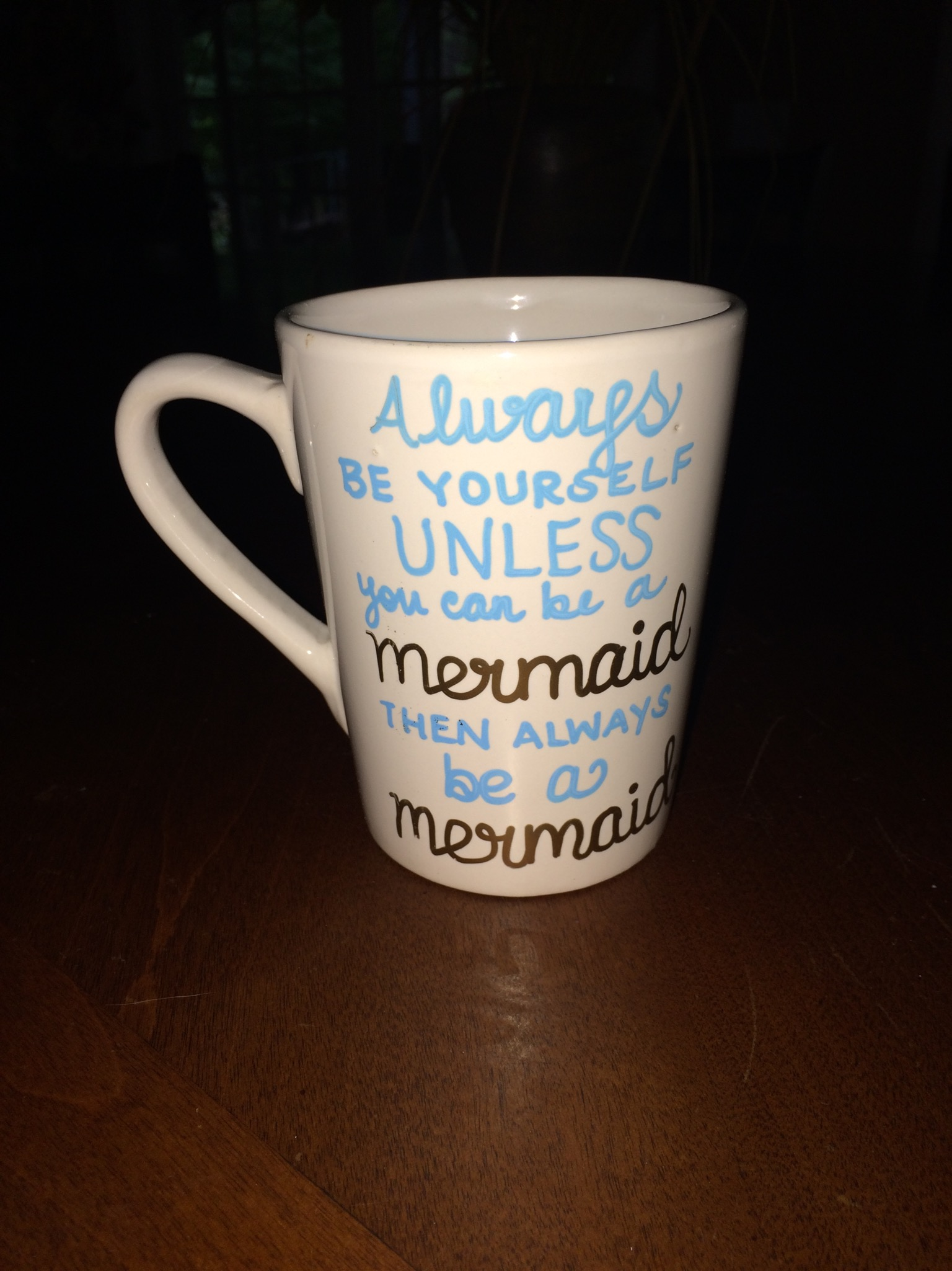 Mermaid Mug - B Boards Mug Shop