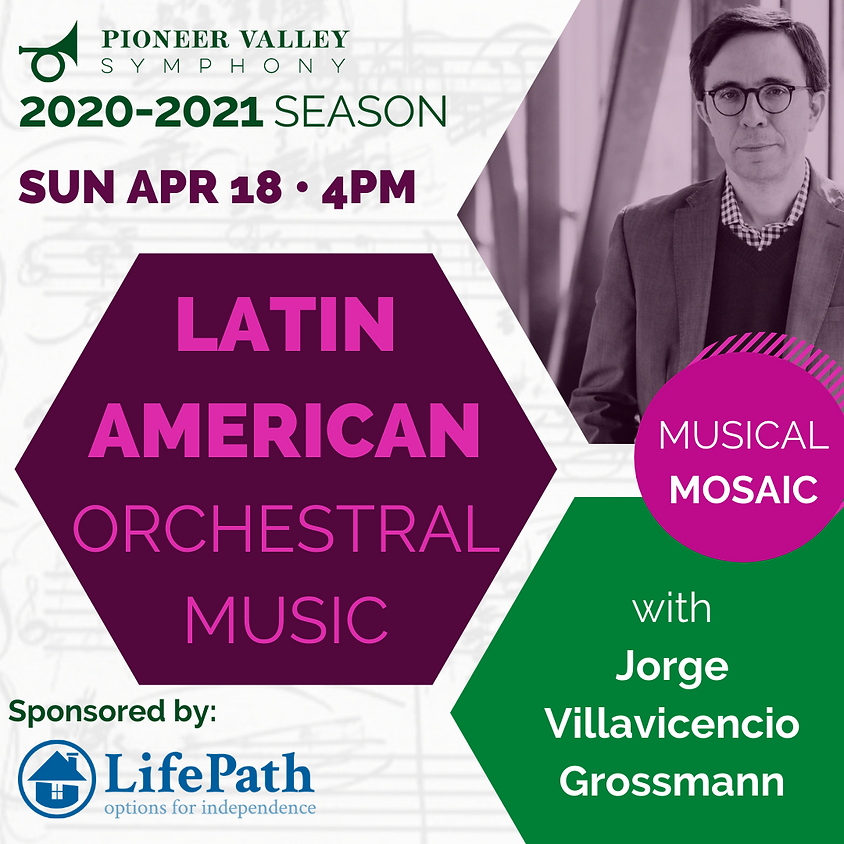 Latin American Orchestral Music: A confluence of cultures & influences