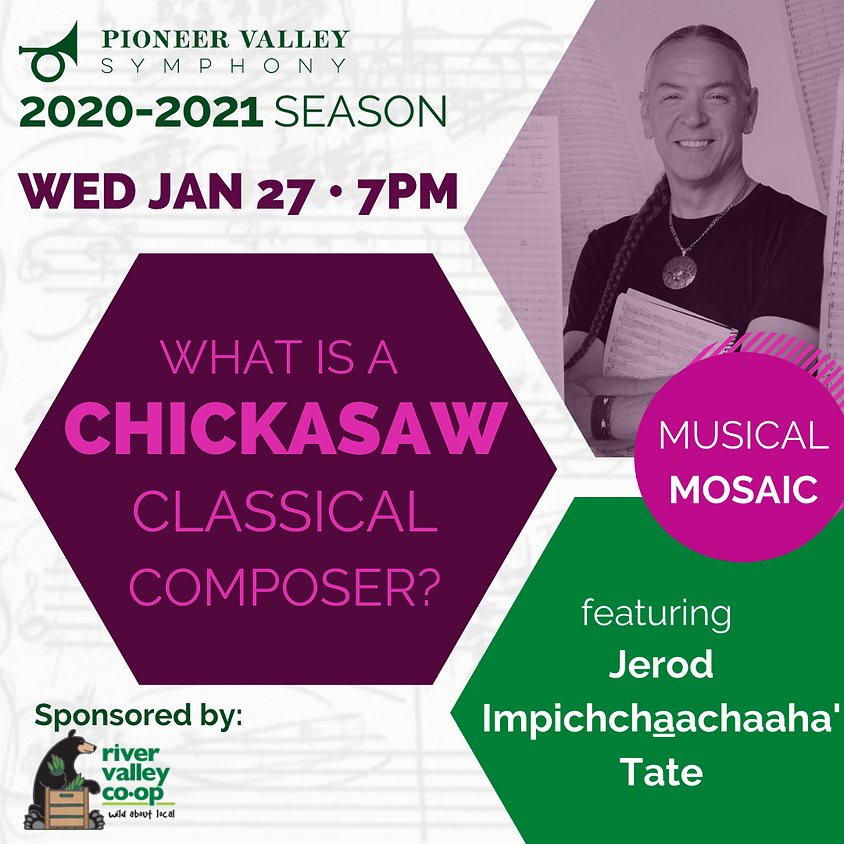 Musical Mosaic: What is a Chickasaw Classical Composer?