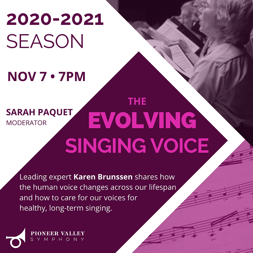 PVS Presents: The Evolving Singing Voice