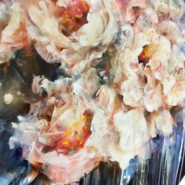 White Bulb Of Blossoms