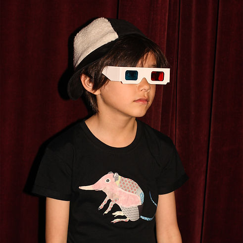 Peacheyboo | British Childrenswear- Shrew Tee, The Gate Cinema, Nottinghill