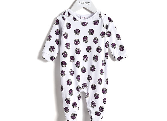 Blackberry Tart Babygrow