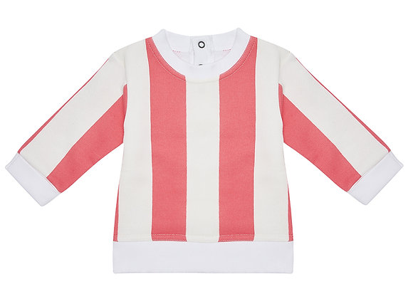 Flamingo Stripe Sweater