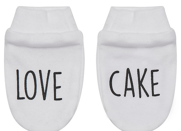 'Love Cake' Scratch Mitts