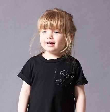 Peacheyboo | British Childrenswear- Liquorice Sugar Mice Dress