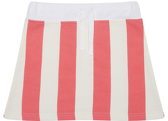 Flamingo Stripe Skirt