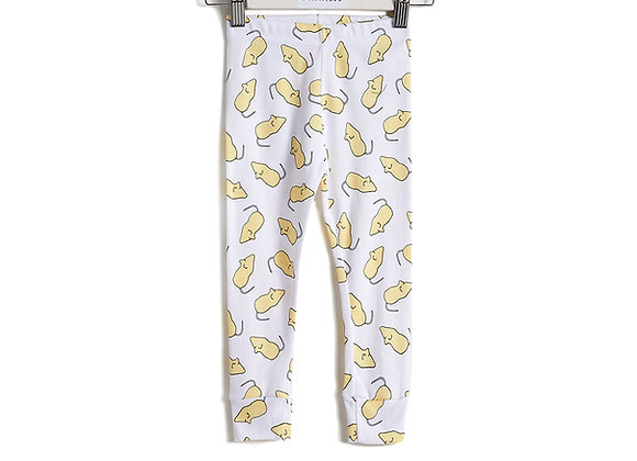 Lemon Sugar Mice Leggings