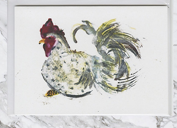 Cockerel Card