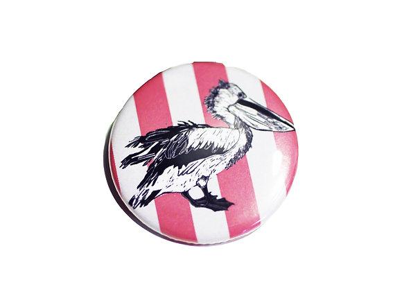 Pelican Design Badge