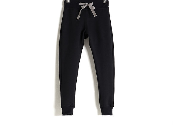 Jet Black Sweatpants