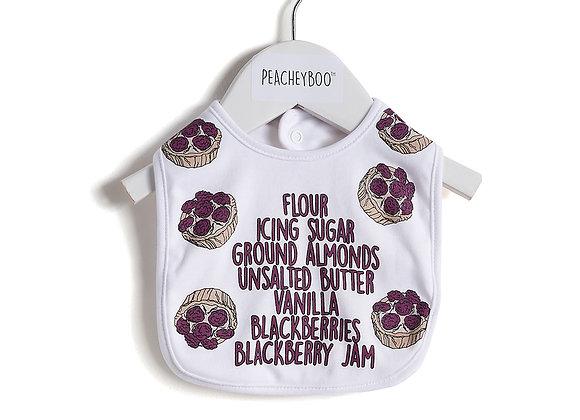 Blackberry Tart Bib