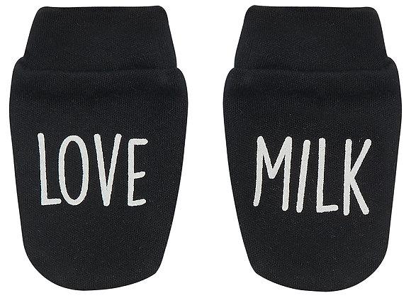 'Love Milk' Scratch Mitts