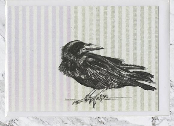 Raven Perching