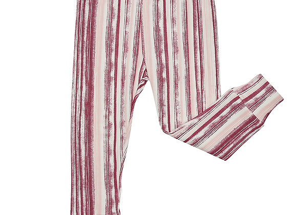 Raspberry Ripple Stripe Leggings