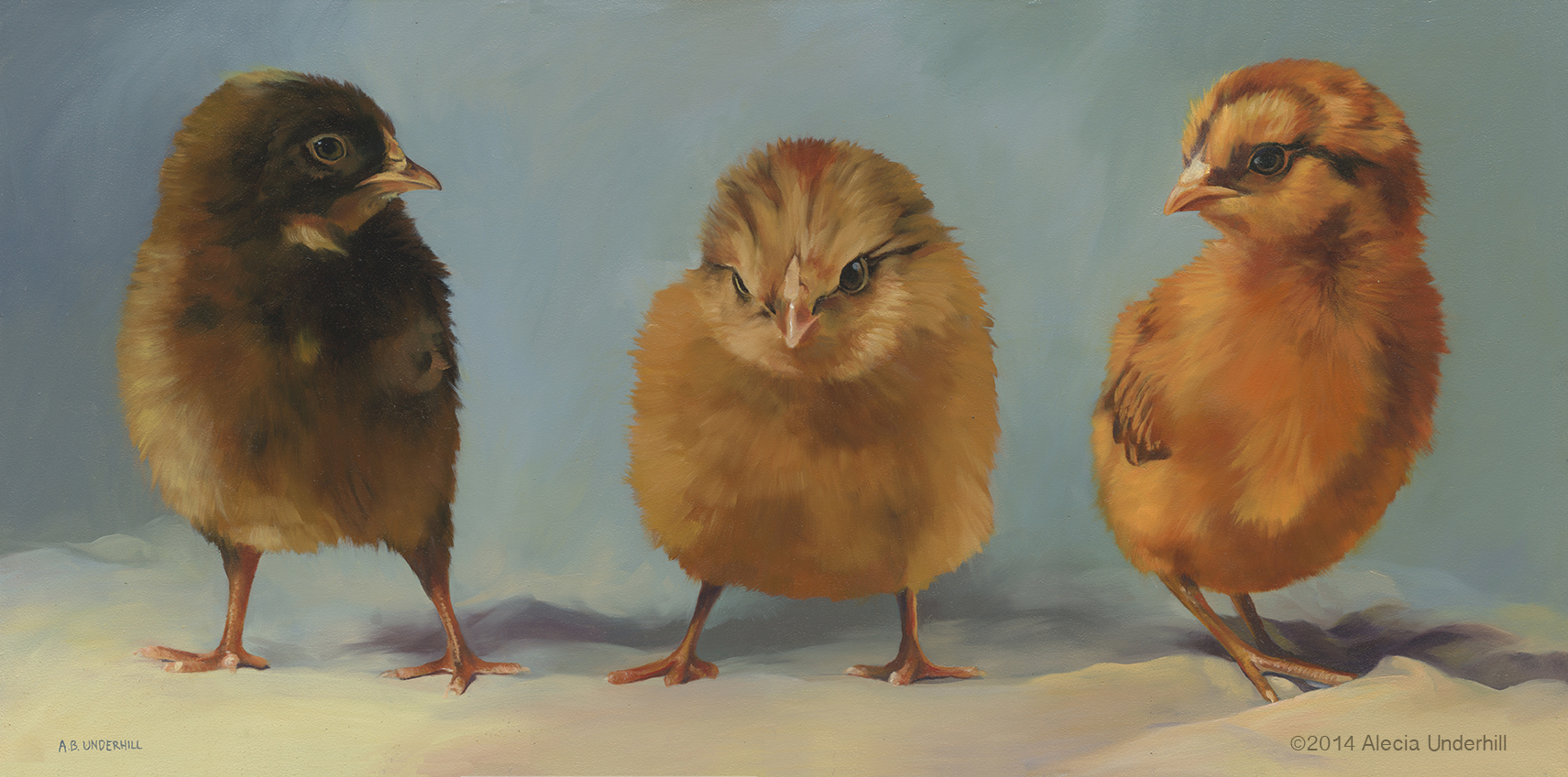 Three Little Chicks