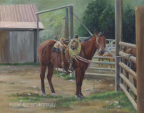 Ranch Horse Pete