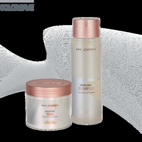 Coffret HyLoren Cheveux Abimés Shampooing & Masque 500 ml