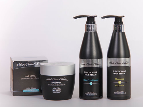 Coffret Shampooing, Après-shampooing & Masque
