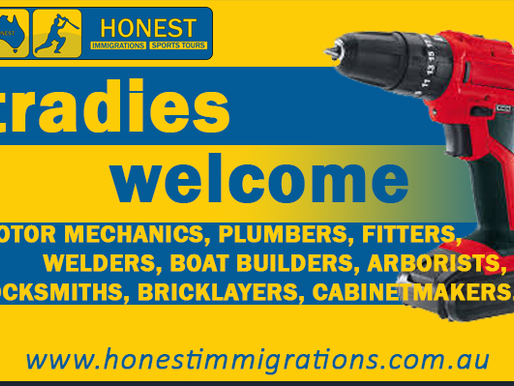 TRADIES WELCOME