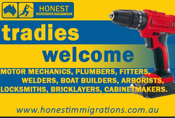 Honest Immigrations tradies promo