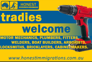 Honest Immigrations tradies promo