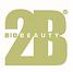 2B bio beauty skin herbal treatment logo