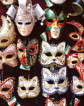 Masks on Wall