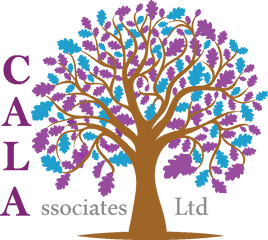 Purple and blue leaves brown tree PNG 2.